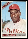 1966 Topps #397  Bill White  Front Thumbnail