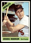 1966 Topps #390  Brooks Robinson  Front Thumbnail