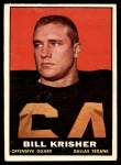 1961 Topps #136  Bill Krisher  Front Thumbnail