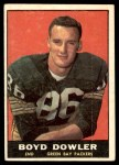 1961 Topps #43  Boyd Dowler  Front Thumbnail