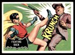 1966 Topps Batman Black Bat #30 BLK  Fighting Back Front Thumbnail