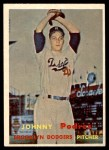 1957 Topps #277  Johnny Podres  Front Thumbnail