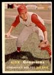 1957 Topps #222  Alex Grammas  Front Thumbnail