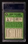 1967 Topps #606  Ron Taylor  Back Thumbnail
