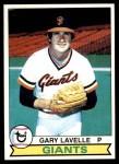 1979 Topps #311  Gary Lavelle  Front Thumbnail