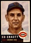 1953 Topps #226  Ed Erautt  Front Thumbnail