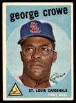 1959 Topps #337  George Crowe  Front Thumbnail