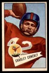 1952 Bowman Small #63  Charley Conerly  Front Thumbnail