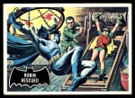 1966 Topps Batman Black Bat #38 BLK  Robin Rescued Front Thumbnail