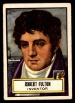1952 Topps Look 'N See #73  Robert Fulton  Front Thumbnail
