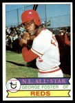 1979 Topps #600  George Foster  Front Thumbnail