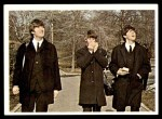 1964 Topps Beatles Color #40   John, Paul with Ringo on harmonica Front Thumbnail