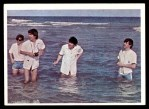 1964 Topps Beatles Color #33   Beatles in the water Front Thumbnail