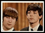 1964 Topps Beatles Color #13   John and Paul Front Thumbnail