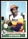 1979 Topps #642  Wilbur Howard  Front Thumbnail