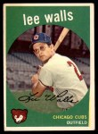 1959 Topps #105  Lee Walls  Front Thumbnail