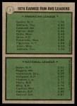1979 Topps #7   -  Ron Guidry / Craig Swan ERA Leaders   Back Thumbnail