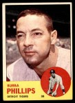 1963 Topps #177  Bubba Phillips  Front Thumbnail