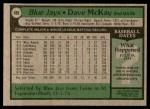 1979 Topps #608  Dave McKay  Back Thumbnail