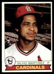 1979 Topps #609  Silvio Martinez  Front Thumbnail
