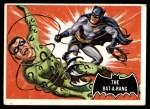 1966 Topps Batman Black Bat #46 BLK  The Batarang Front Thumbnail