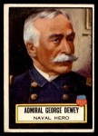1952 Topps Look 'N See #93  Admiral George Dewey  Front Thumbnail