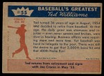 1959 Fleer #55   -  Ted Williams Decides Retirement is No Go Back Thumbnail