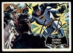 1966 Topps Batman Black Bat #12 BLK  Batman Strikes Front Thumbnail