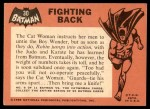 1966 Topps Batman Black Bat #30 BLK  Fighting Back Back Thumbnail