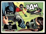1966 Topps Batman Black Bat #44 BLK  Flying Fists Front Thumbnail