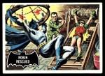 1966 Topps Batman Black Bat #38 BLK  Robin Rescued Front Thumbnail