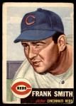 1953 Topps #116  Frank Smith  Front Thumbnail