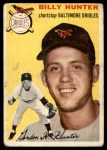 1954 Topps #48  Billy Hunter  Front Thumbnail