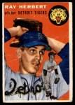 1954 Topps #190  Ray Herbert  Front Thumbnail