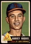 1953 Topps #273  Harvey Haddix  Front Thumbnail