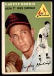 1954 Topps #9  Harvey Haddix  Front Thumbnail