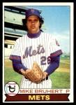1979 Topps #172  Mike Bruhert  Front Thumbnail