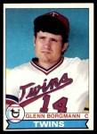 1979 Topps #431  Glenn Borgmann  Front Thumbnail
