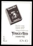 1911 T3 Turkey Red Reprint #89  Lou Criger  Back Thumbnail