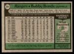 1979 Topps #285  Bobby Bonds  Back Thumbnail