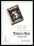1911 T3 Turkey Red Reprint #83  Al Bridwell  Back Thumbnail