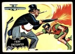 1966 Topps Batman Black Bat #19 BLK  Fiery Encounter Front Thumbnail