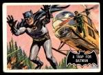 1966 Topps Batman Black Bat #37 BLK  Trap for Batman Front Thumbnail