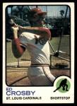 1973 Topps #599  Ed Crosby  Front Thumbnail