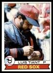 1979 Topps #575  Luis Tiant  Front Thumbnail
