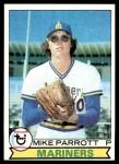 1979 Topps #576  Mike Parrott  Front Thumbnail