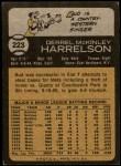 1973 Topps #223  Bud Harrelson  Back Thumbnail
