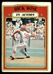1972 Topps #44   -  Rick Wise In Action Front Thumbnail