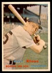 1957 Topps #292  Billy Klaus  Front Thumbnail