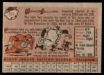 1958 Topps #197  Haywood Sullivan  Back Thumbnail